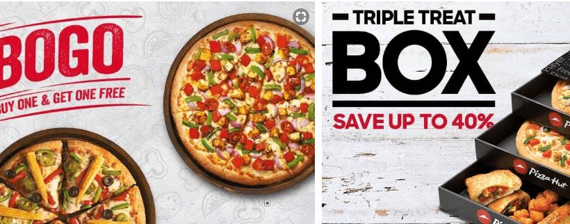 Today 10 Pizza Hut Promo Code Menu Special Triple Treat Box